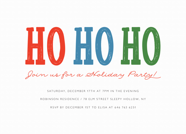 Ho Ho Ho Party