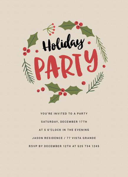 Mistletoe Holiday Party