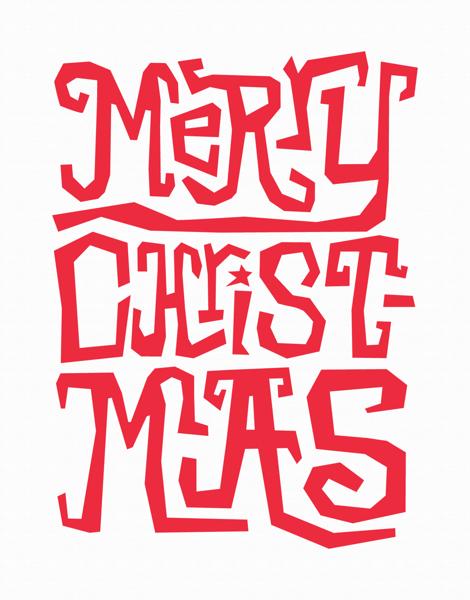 Christmas Typography