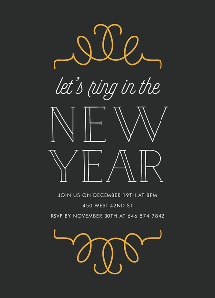 Art Deco New Year Party