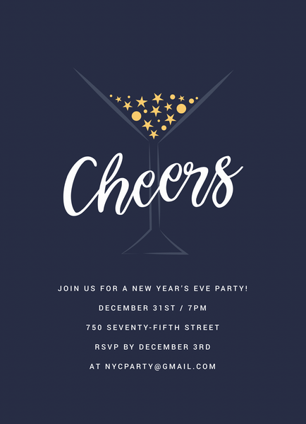 Martini Invite