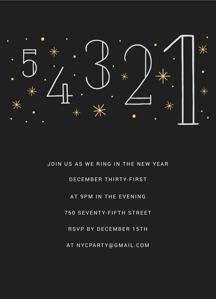 Countdown Invite