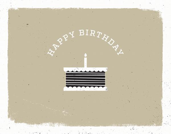 Simple Cake Birthday