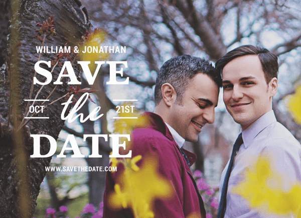 Lovely Save The Date