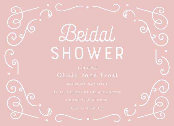 Pink Lace Bridal Shower