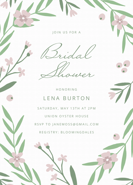 Spring Garden Bridal Shower