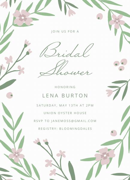 Spring Garden Bridal Shower