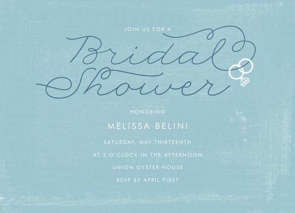 Ring Bridal Shower