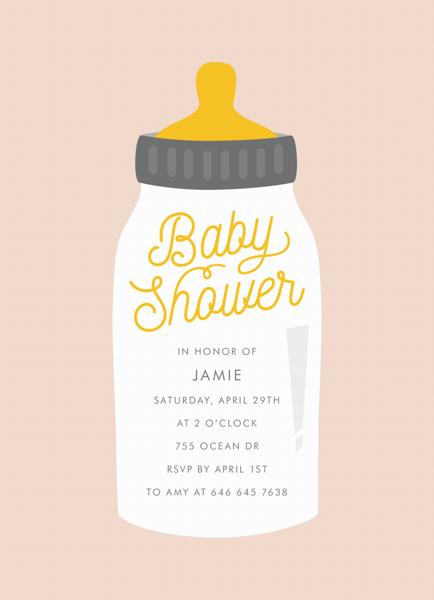 Baby Shower Bottle