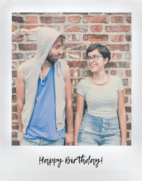 Polaroid Birthday