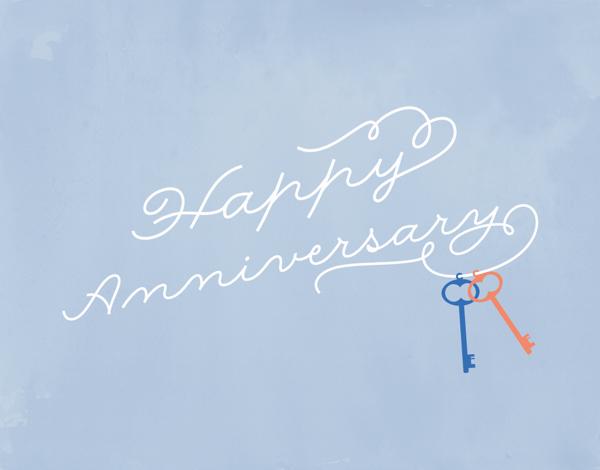 Happy Anniversary Keys