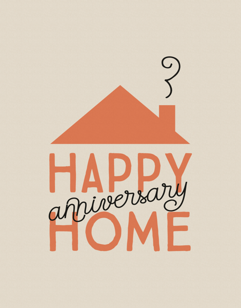 Happy Home Anniversary