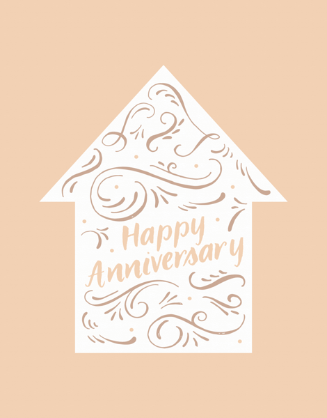 Home Anniversary Ornament