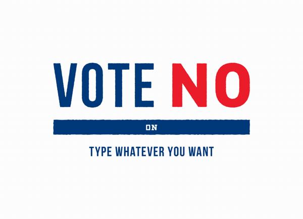 vote-no-political-postcard