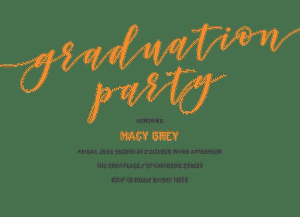 Classic Graduation