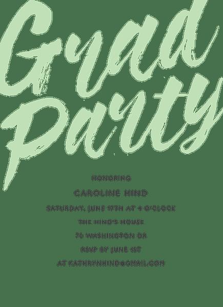 Brush Grad Party