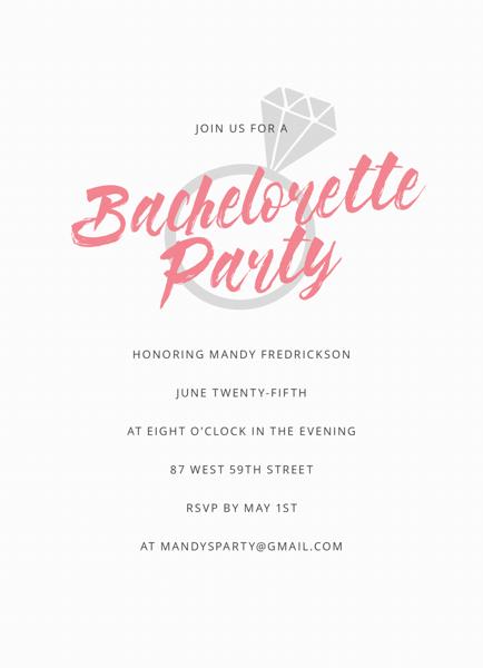 Ring Bachelorette Party