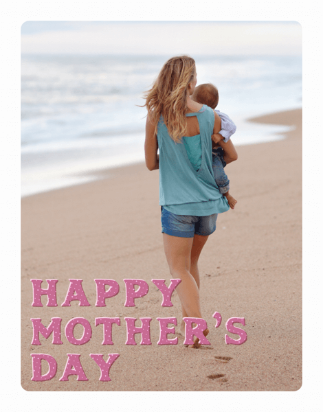 Simple Text Mother's Day