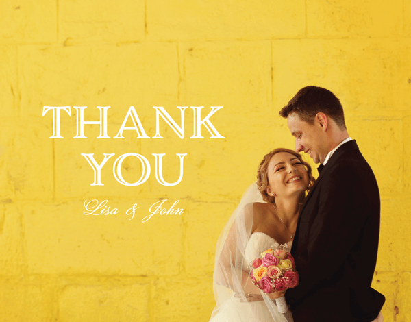 Elegant Thank You