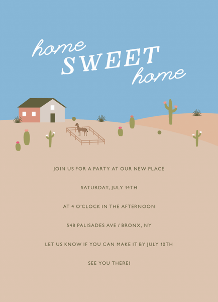 Home Sweet Home Desert