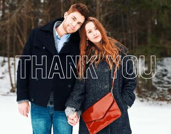Simple Thank You Outline