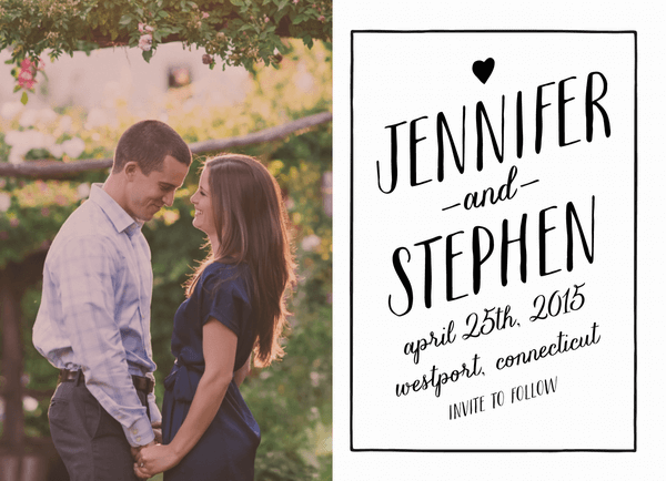 Sweetheart Save the Date