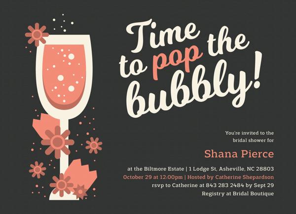 Pop The Bubbly