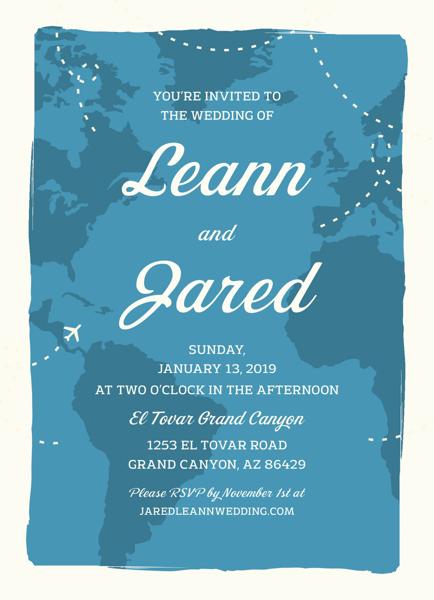 Map Invitation
