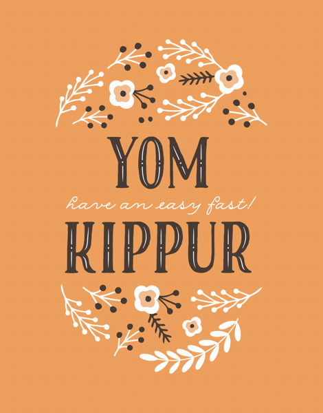 Floral Yom Kippur