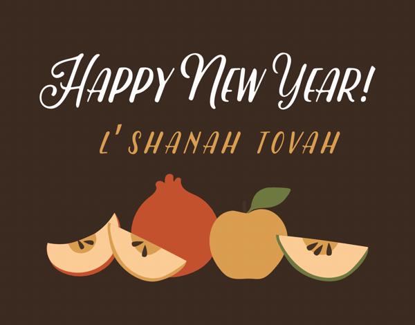 Happy New Year Apples