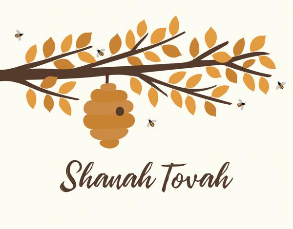Rosh Hashanah Beehive