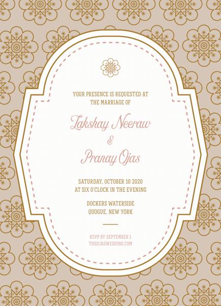 Elegant Pattern Invitation