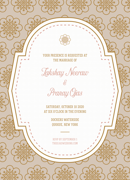 Elegant Pattern Invitation