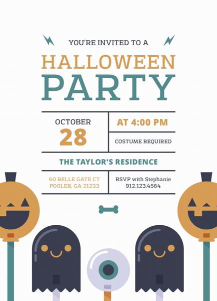 Spooky Fun Halloween Party