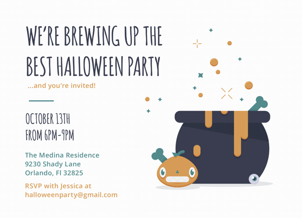 Halloween Party Brewing