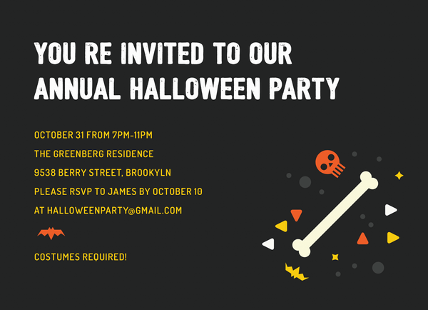 Simple Halloween Party
