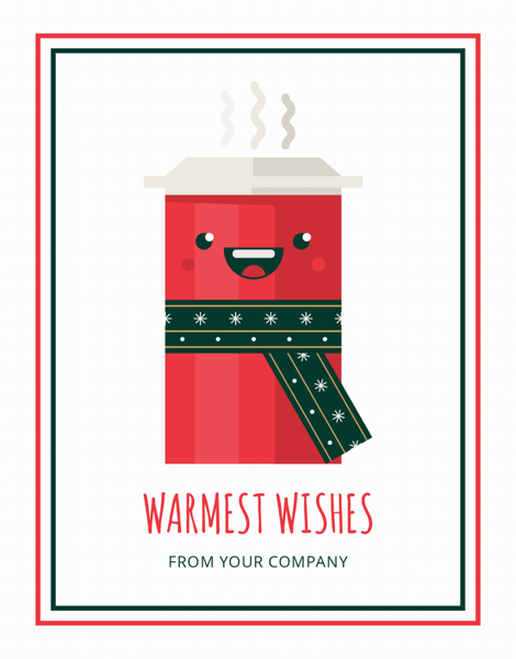 funny warmest wishes company greeting