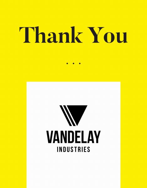 custom business thank you logo card
