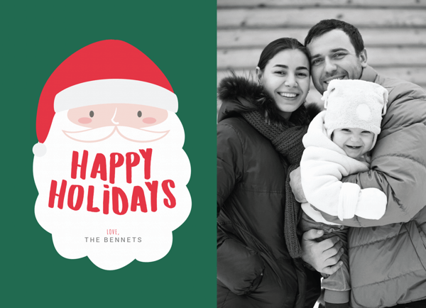 santa-happy-holidays-photo-card