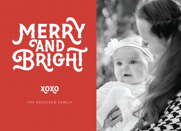 Festive Merry & Bright