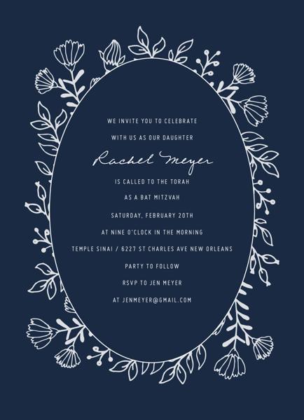 Lovely Flower Invite