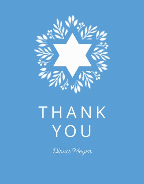 Blue Garden Thank You