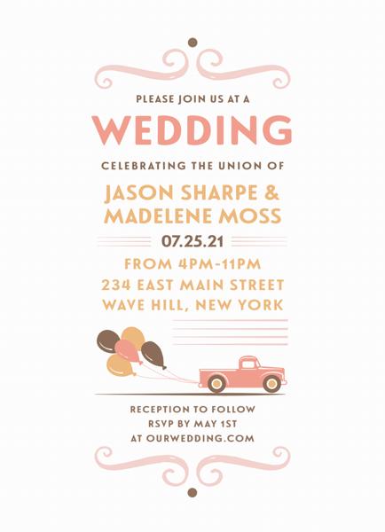 Newlyweds Invite