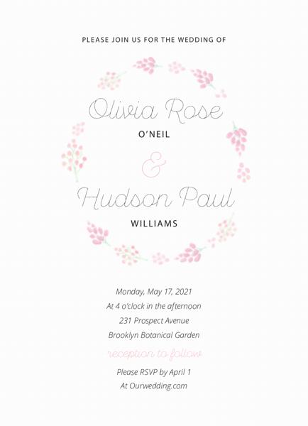 Lilac Wedding