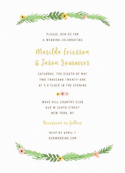 Garland Invite