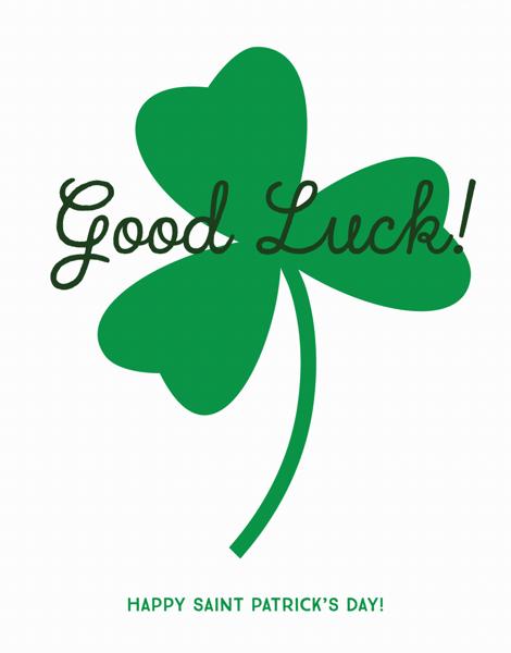Good Luck Shamrock