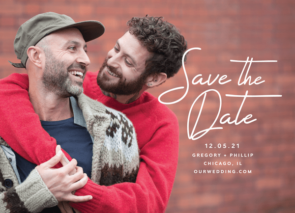 Minimal Script Save The Date