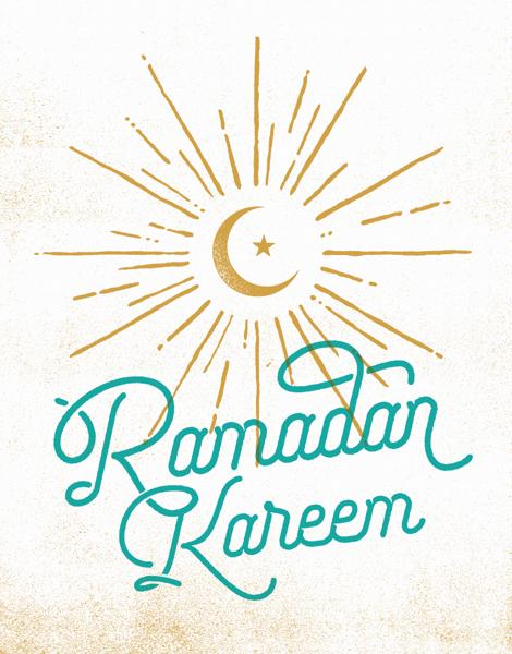 Ramadan Kareem Moon