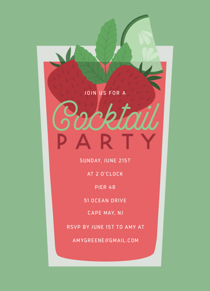 Summer Cocktail Party