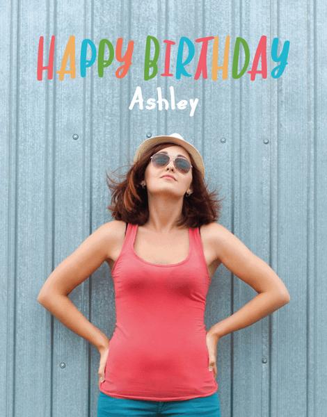 Colorful Custom Birthday